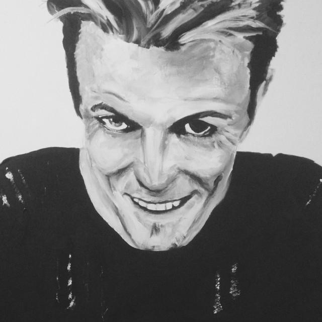 David Bowie circa 1995 Outside Album