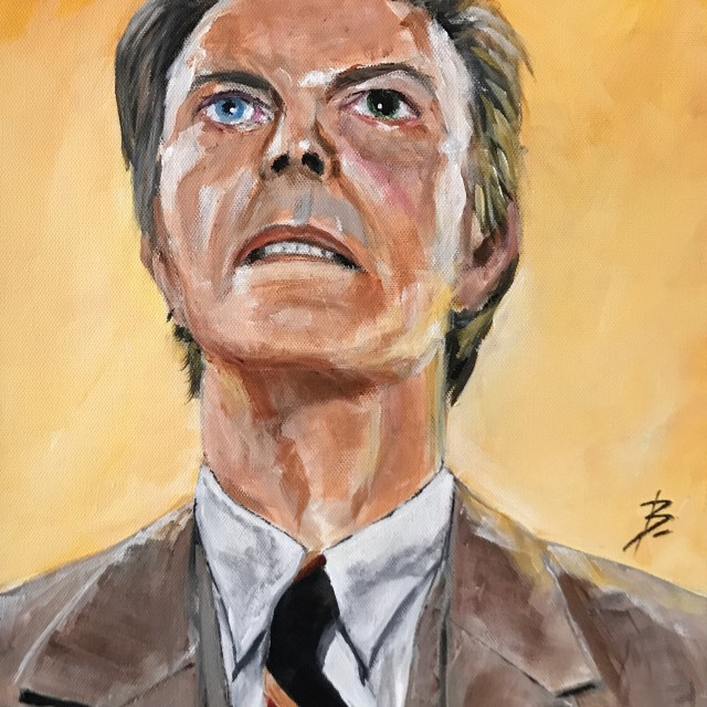 David Bowie circa 2002 Heathen album