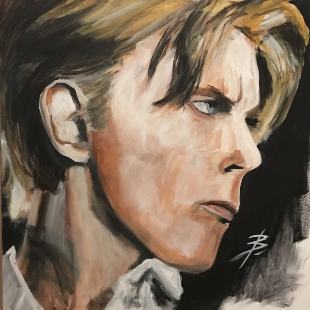 David Dowie Thin White Duke