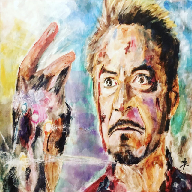 Tony Stark - Iron Man Avengers: Endgame